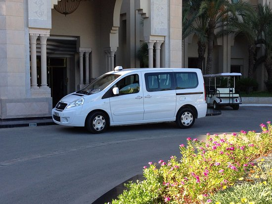 Hammamet, Tunisia: Van from Tunisia airport Transfers Fleet