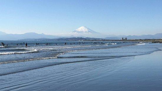 Fujisawa, اليابان: Mt. Fuji