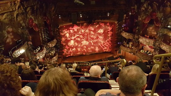 Lyceum Theatre Mid Range Seats With Excellent Views