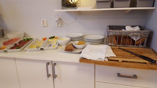 "P-Hotels Brattora: Frokost ""buffé"""
