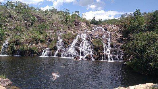 Delfinópolis, MG: Cachoeira Paraíso