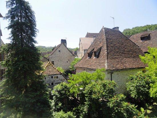 Carennac, Francja: arbres et toits