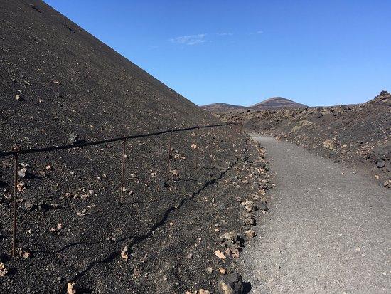 Caleta del Caballo, Ισπανία: Volcán El Cuervo