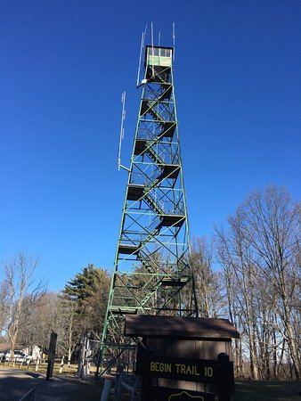 Nashville, IN: Fire tower and trail #2