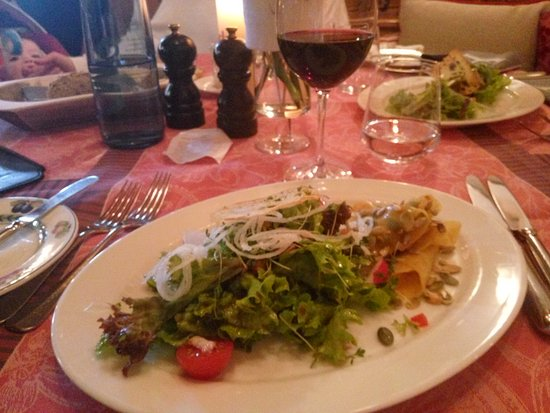 Hornbach, Germany: Antipasto: praticamente insalata