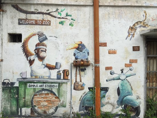 其它的壁畫 Picture Of Ipoh Mural Art Trail Ipoh Tripadvisor
