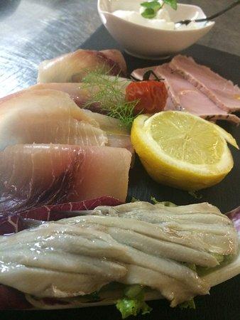 Mordano, Italia: Antipasto di pesce