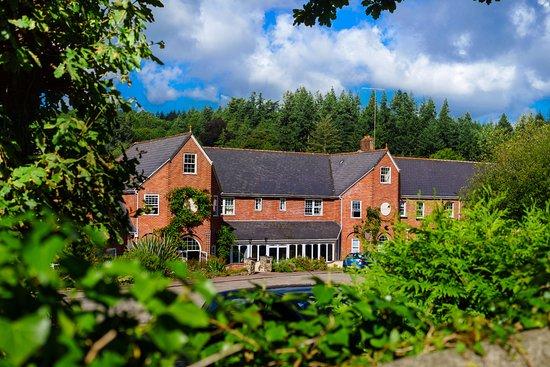 Chulmleigh, UK: Hotel Entrance