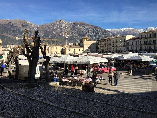 Maiella Mountain : Monte Maiella da Piazza Garibaldi