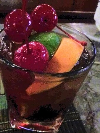 Middletown, CT: Bourbon Manhattan a la fruis