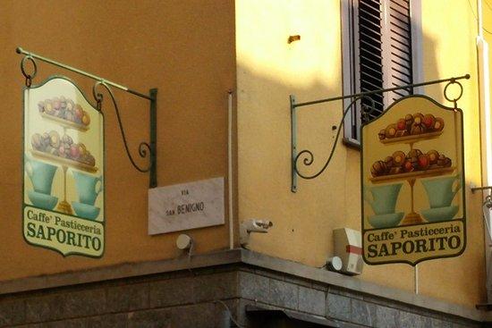 SAPORITO Pasticceria : Insegna del locale