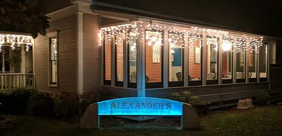 Salado, TX: Alexander's at Christmas