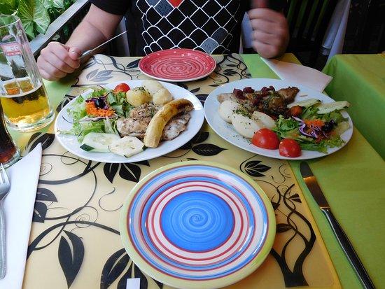 Jardim das Flores : Hauptgerichte - Zwei Fischgerichte