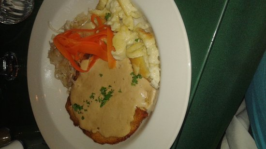 Fall River, Canada: Delicious food from LA Cave de Strasbourg