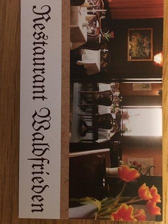 Ludwigsfelde, Germania: Restaurant Waldfrieden