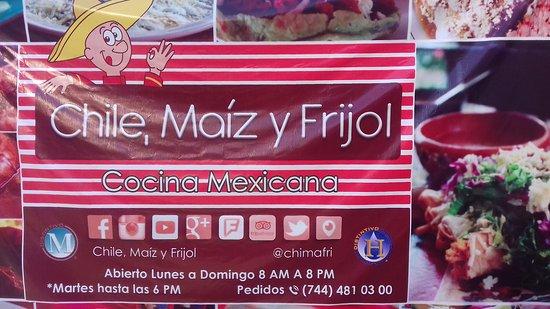 Restaurante Chile, Maiz y Frijol: 20161226_165022_large.jpg
