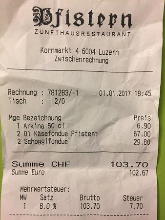 Zunfthausrestaurant Pfistern : photo0.jpg