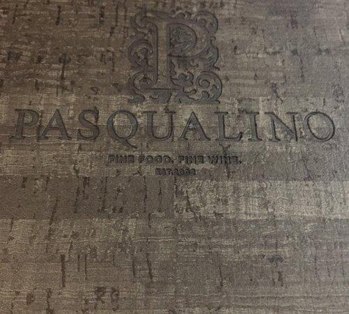 Pasqualino: Wine list