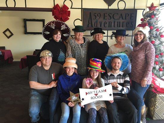 Post Falls, ID: Cascade Kids after a successful solve!