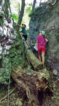 Lansdowne, Canadá: Exploring on the Sandstone Island hike