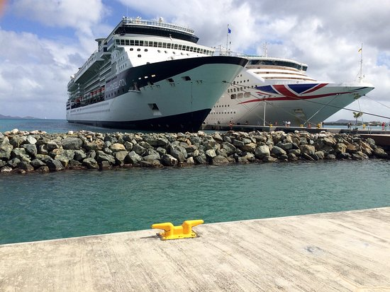View From Tortola Pier Park Picture Of Tortola Pier Park Road