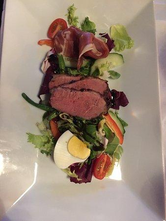 Finlaysonin Palatsi : Starter country salad