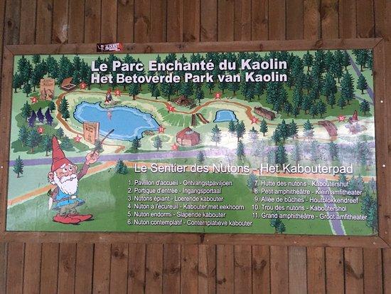 """Parc Du Kaolin """" Le Sentier Des Nutons"""""""