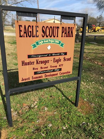 Jewett, TX: Eagle Scout Park