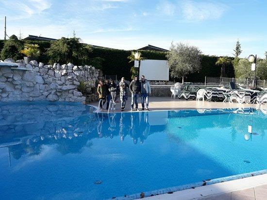 Arcevia, Italie : piscina