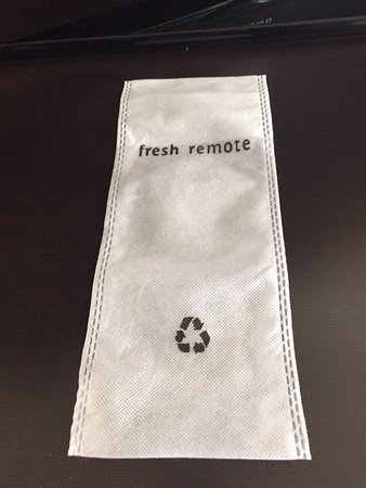 Best Western Canoga Park Motor Inn: Nice touch. Sanitary remote for TV.