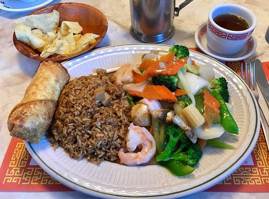 South China Restaurant Hot And Sour Soup Shrimp Kow