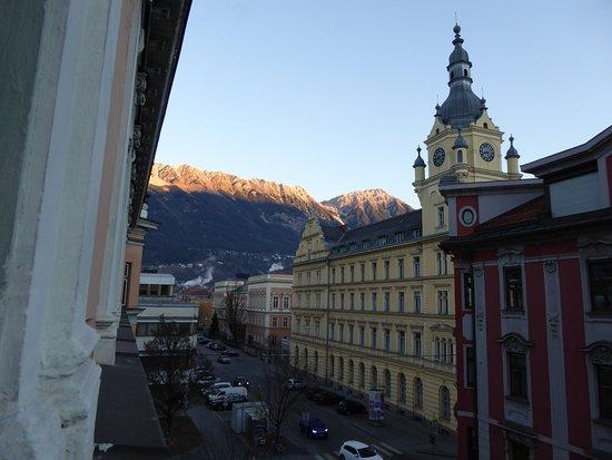 Hotel Neue Post: Blick aus Fenster