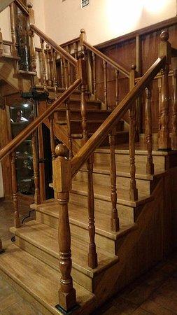 Amaru Hostal: Escadarias