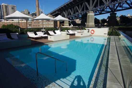 sch ner pool auf dem dach picture of park hyatt sydney sydney tripadvisor. Black Bedroom Furniture Sets. Home Design Ideas