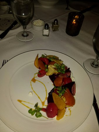 Meridian Restaurant & Bar : Roasted Beet Salad - Meridien - Delicious!