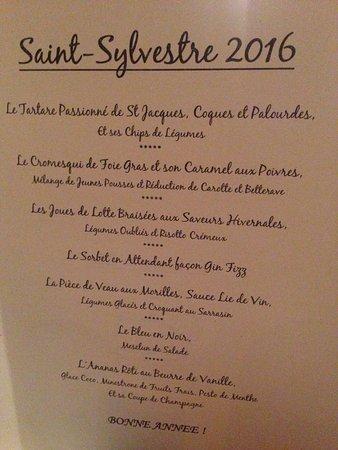 Questembert, France: Excellent réveillon digne d'un restaurant étoilé et accueil très chaleureux. Bravo et merci à to