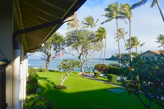 Napili Surf Beach Resort: View from our room 211