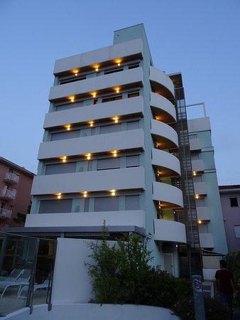 Hotel & Residence Il Teatro: Rückseite des Hotels