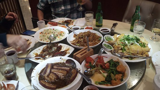 Rolling Meadows, IL: Six of the previous dishes described
