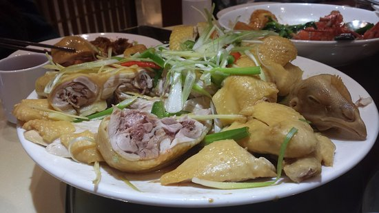 Rolling Meadows, IL: Another view of (whole) ginger scallions Chicken