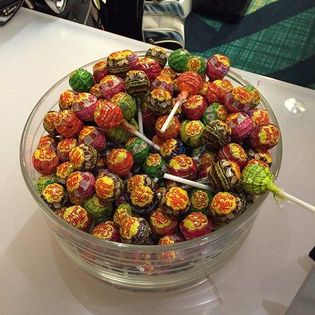 SpringHill Suites Boca Raton: Like I said, plenty of lollipops