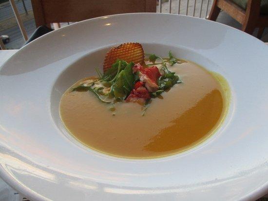 Mariposa: 本日のスープ(パンプキンスープ)