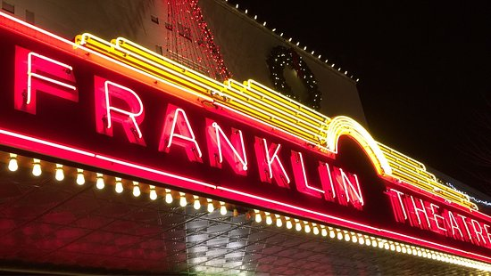 The iconic Franklin Theatre on Main Street in Historic Franklin Tenn.