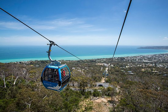 Arthurs Seat, Australia: Views over the Peninsula
