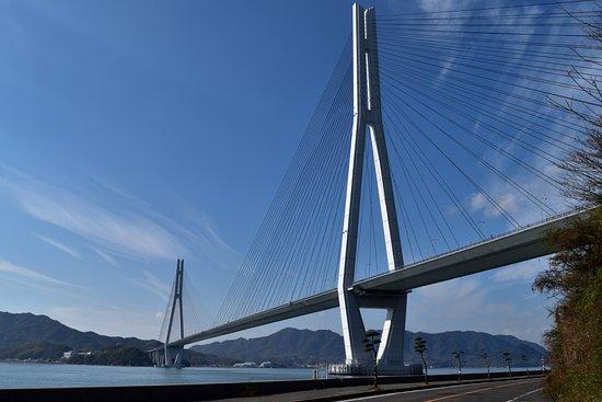 Hiroshima Prefecture, Japão: 橋の中でも斜張橋は美しいと感じます