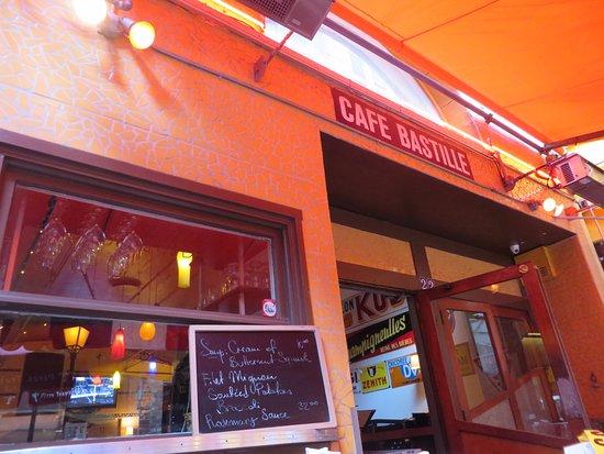 cafe bastille san francisco financial district menu