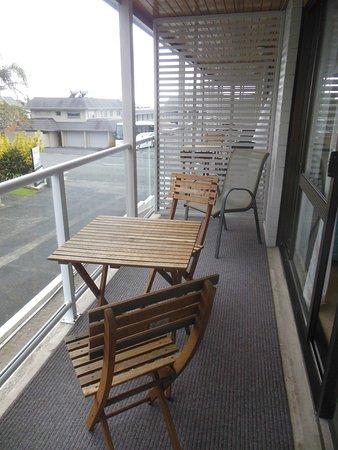 Austria Motel: Balcony