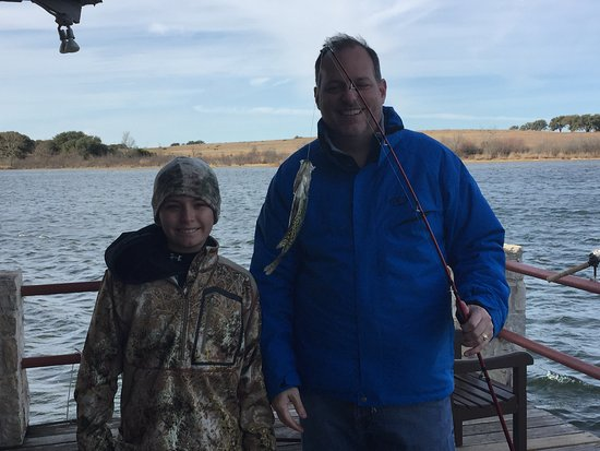 Rough Creek Lodge: Lots of fish to pull in