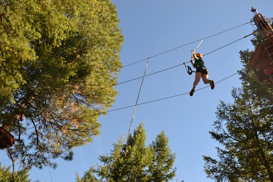 Oyama, Canadá: Talking a tight rope
