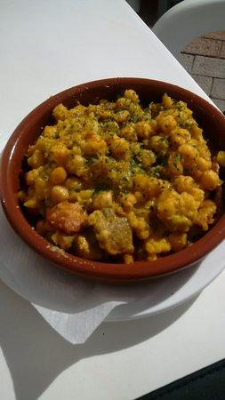 Artenara, Spania: Chick Peas and Chorizo